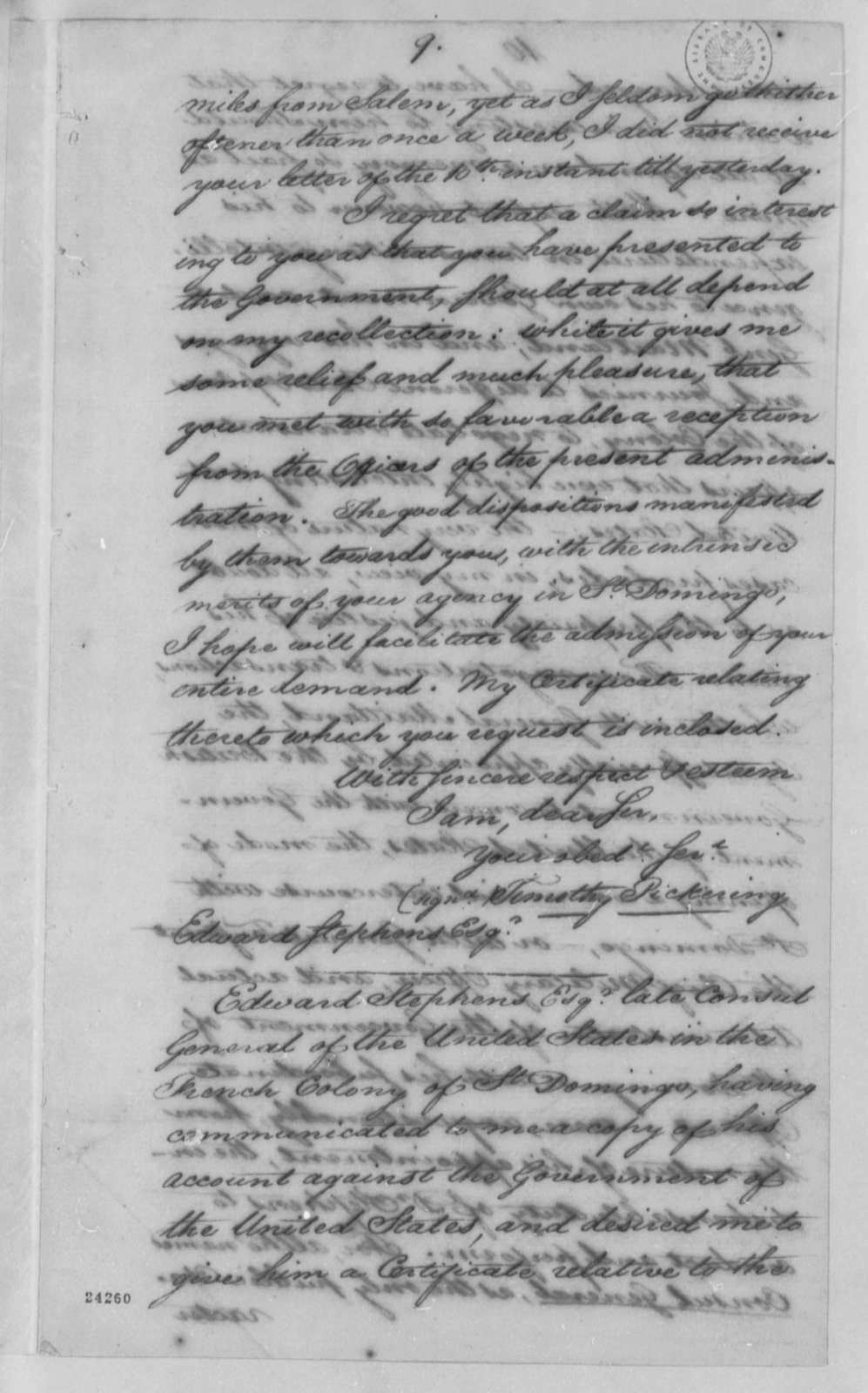 Albert Gallatin to Thomas Jefferson, April 2, 1802