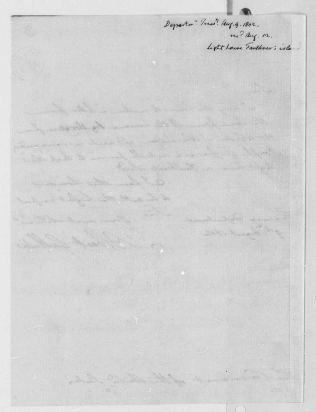 Albert Gallatin to Thomas Jefferson, August 9, 1802
