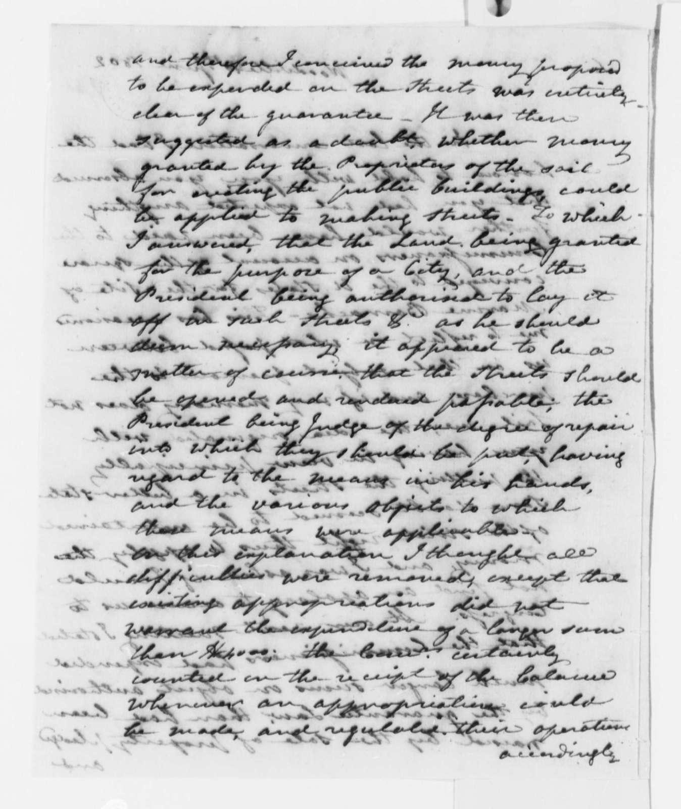 Alexander White to Thomas Jefferson, June 10, 1802