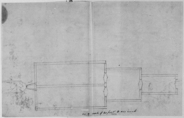 Benjamin H. Latrobe, December 4, 1802, with Drawings of Washington, D. C., Dry Docks