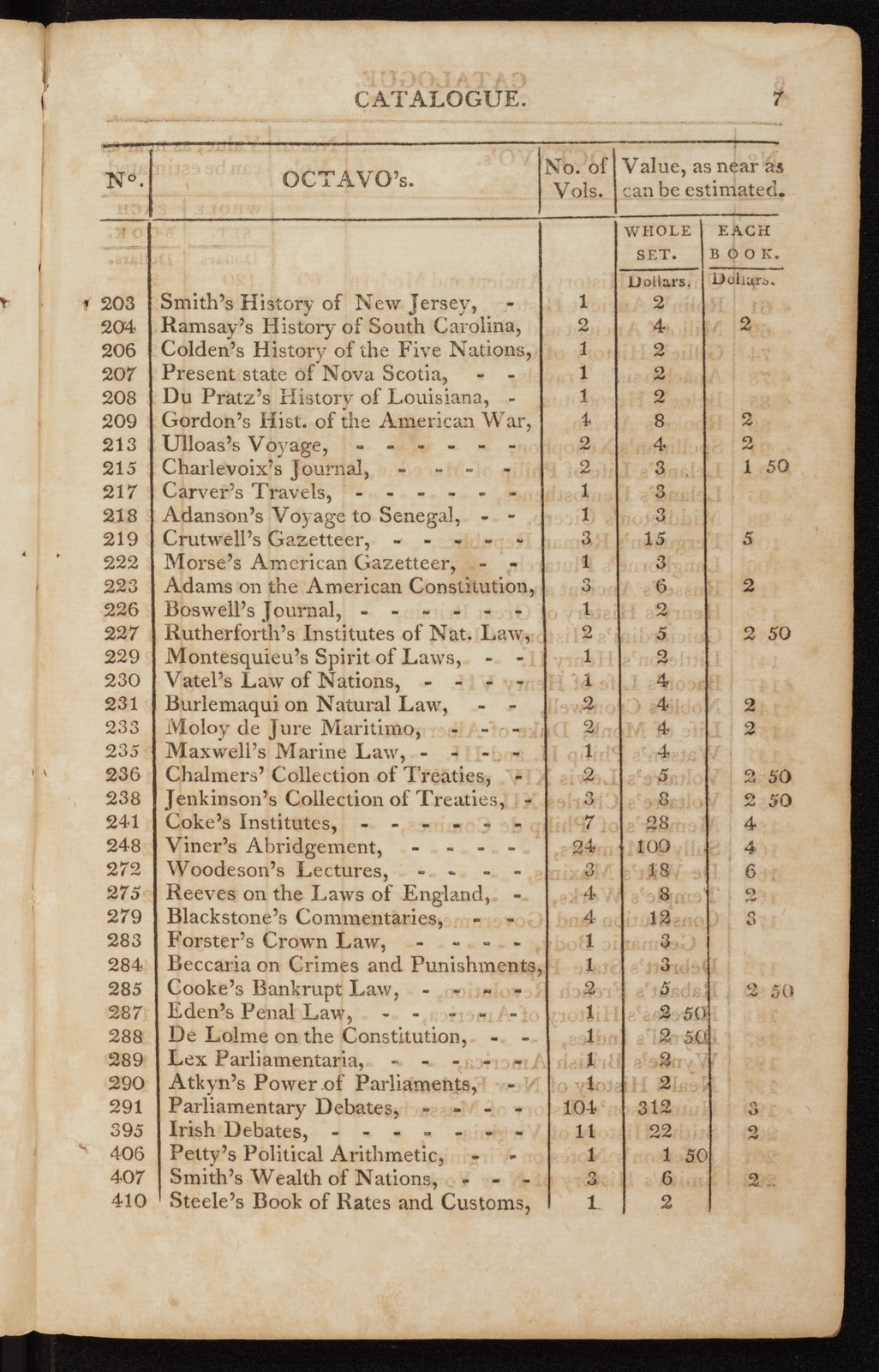 Catalogue of books, maps, and charts, belonging to the