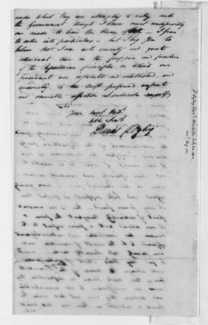 Daniel D'Oyley to Thomas Jefferson, July 24, 1802