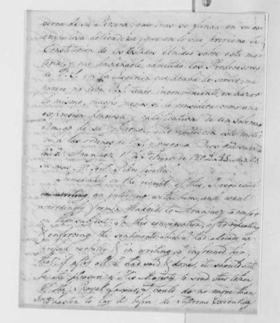 David Humphreys to Thomas Jefferson, June 28, 1802