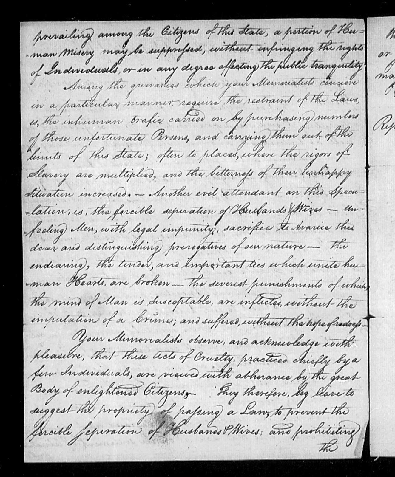 December 17, 1802, Miscellaneous, Society of Friend, in opposition to slavery.