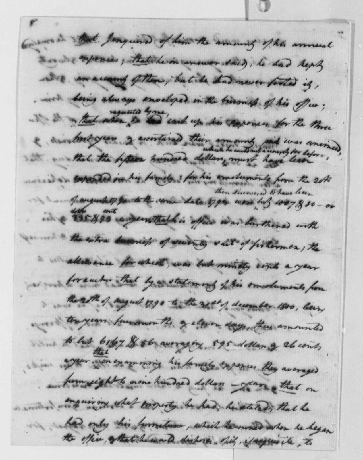 Elbridge Gerry to Thomas Jefferson, August 9, 1802