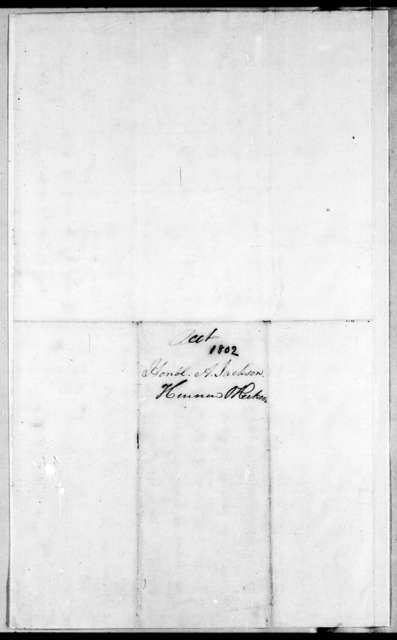 Hennen & Dickson to Andrew Jackson, July 30, 1802