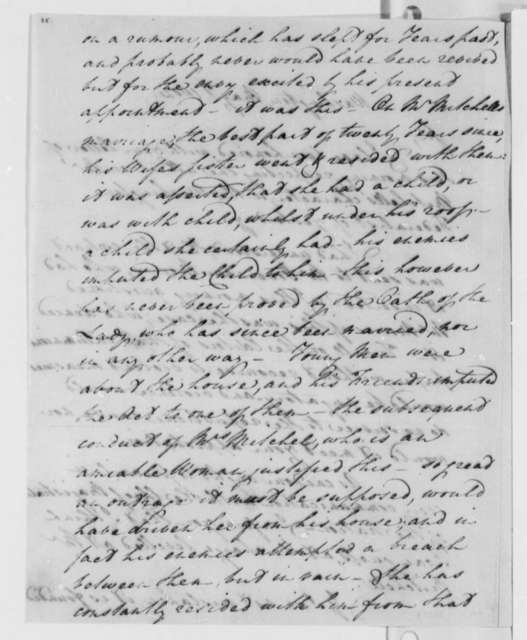 James Jackson to Thomas Jefferson, May 1, 1802