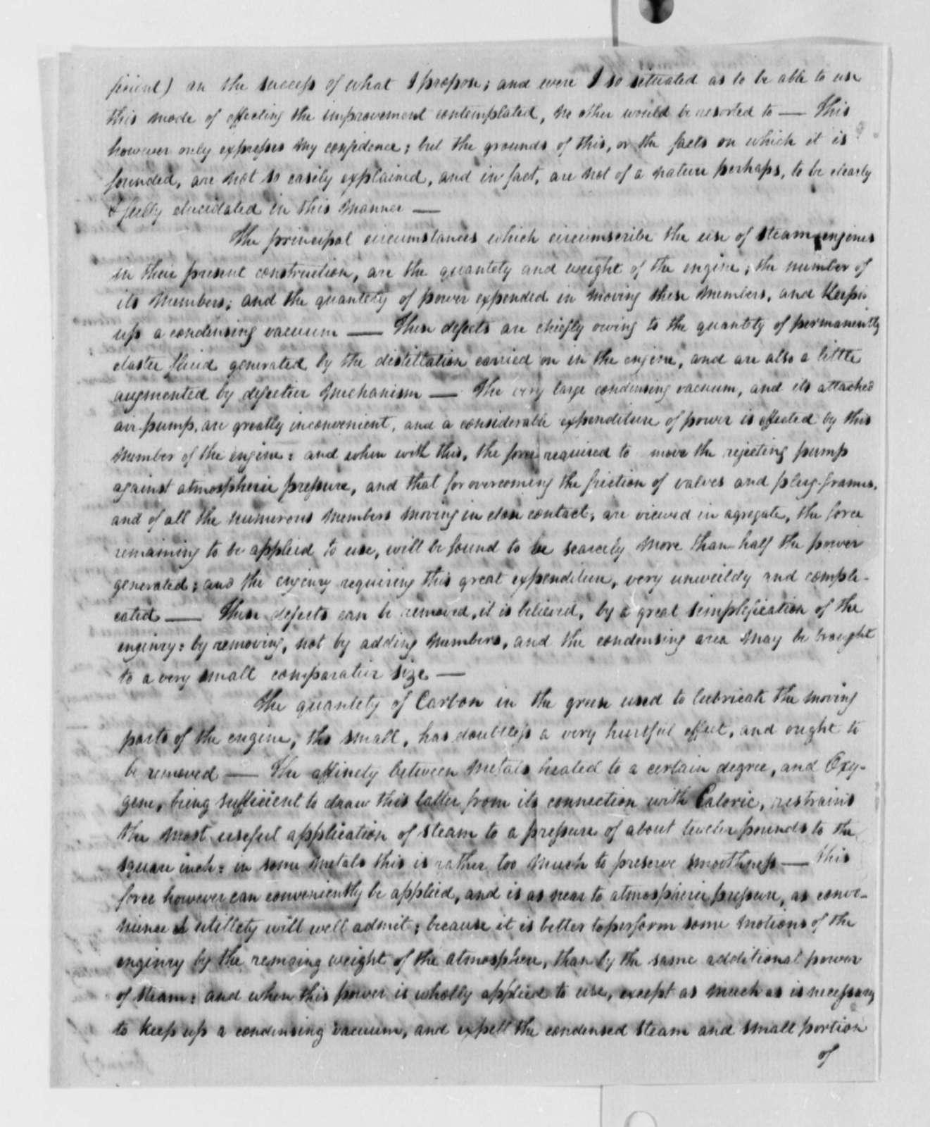 James Sylvester McLean to Thomas Jefferson, September 30, 1802