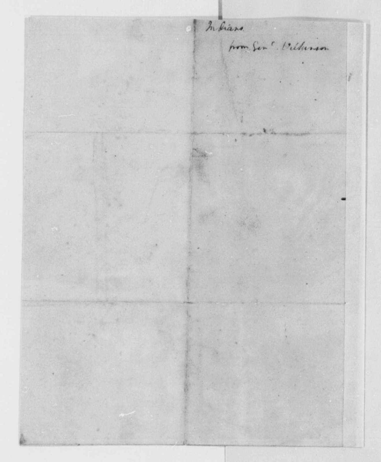 James Wilkinson, 1802, with Drawings of Indian Rock, Ohio River