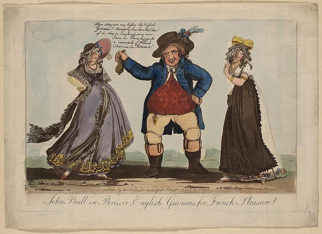 John Bull in Paris; or, English guineas for French pleasure!
