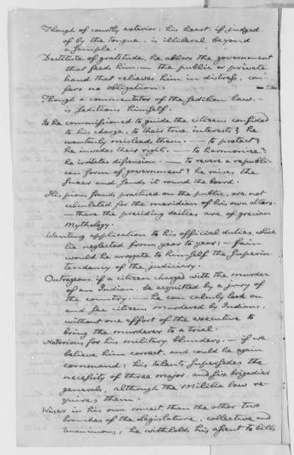 John Cleves Symmes to Thomas Jefferson, January 23, 1802