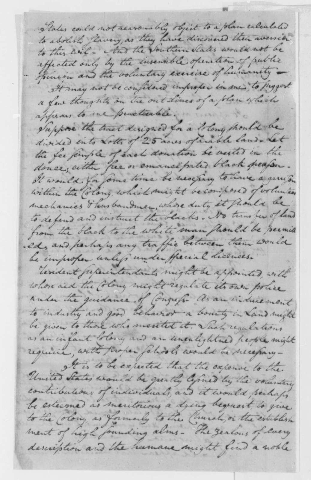 John Coburn to Thomas Jefferson, February 22, 1802