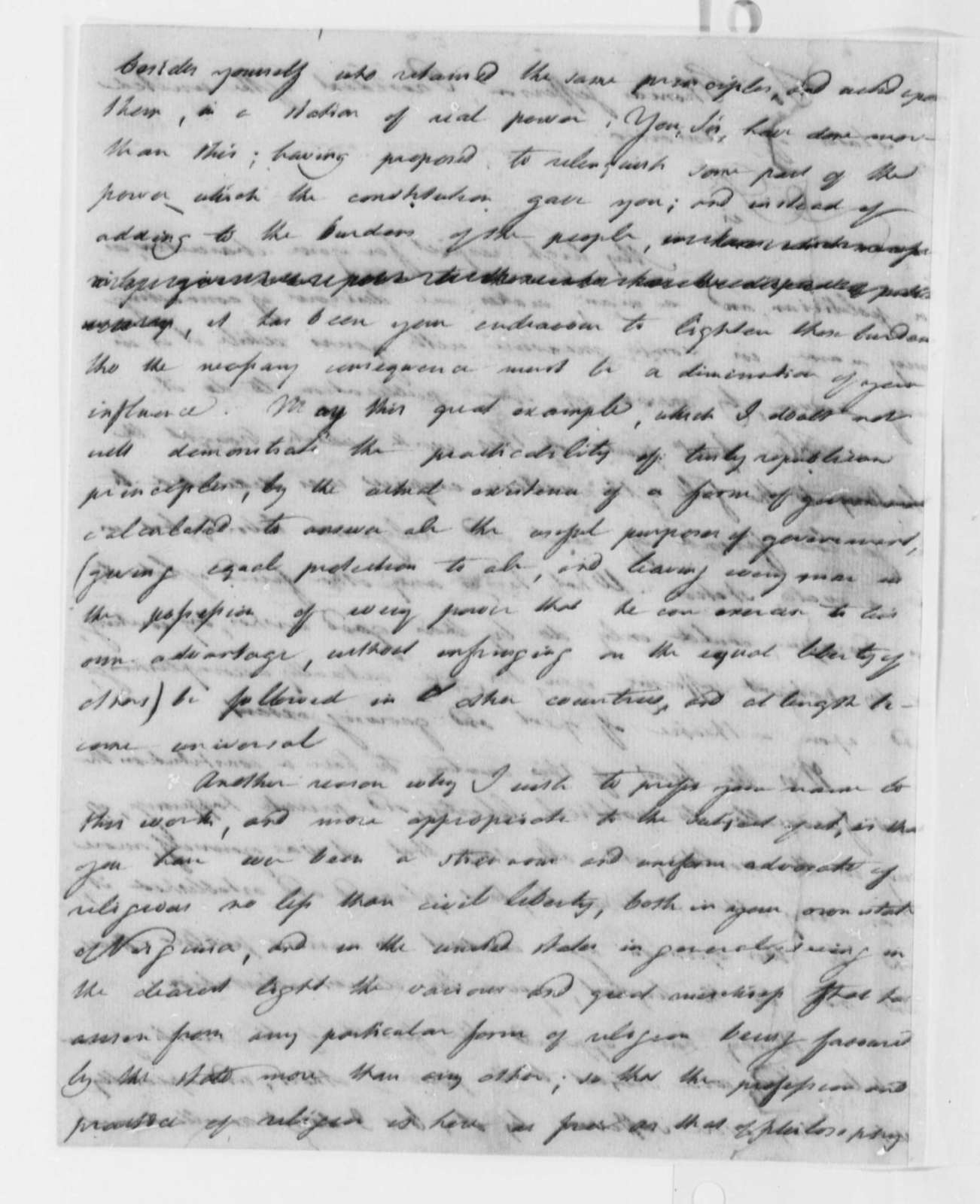 Joseph Priestley to Thomas Jefferson, June 17, 1802
