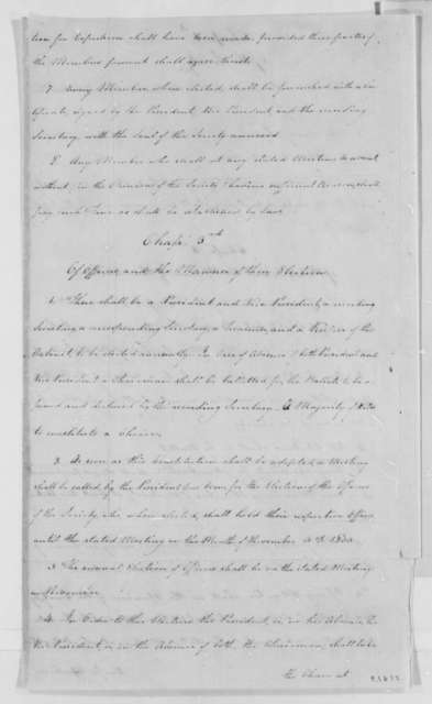Military Philosophical Society, November 12, 1802