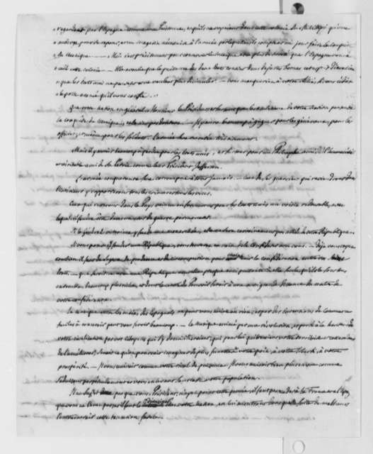 Pierre S. Dupont de Nemours to Thomas Jefferson, April 30, 1802, in French