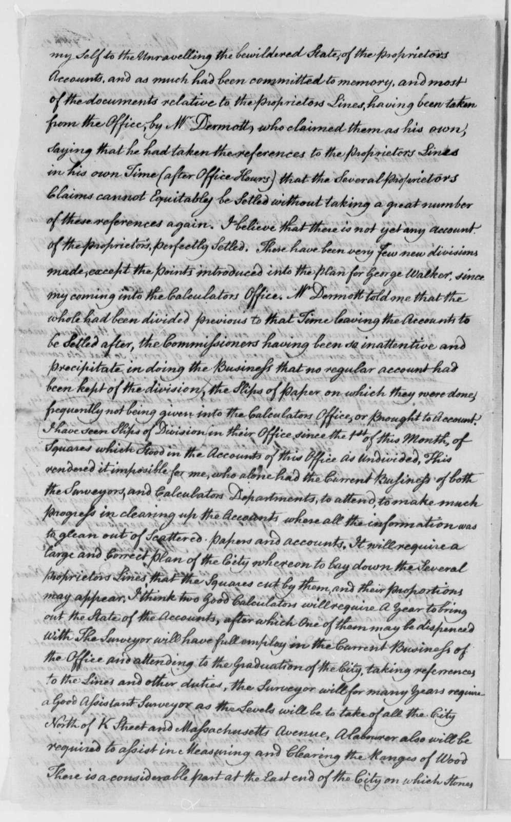 Robert King to Thomas Jefferson, June 5, 1802