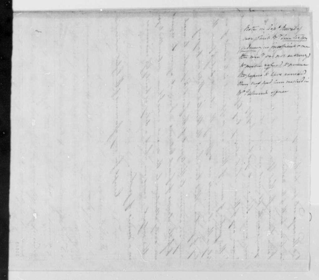 Robert Livingston to France, August 20, 1802, Minister's Affairs