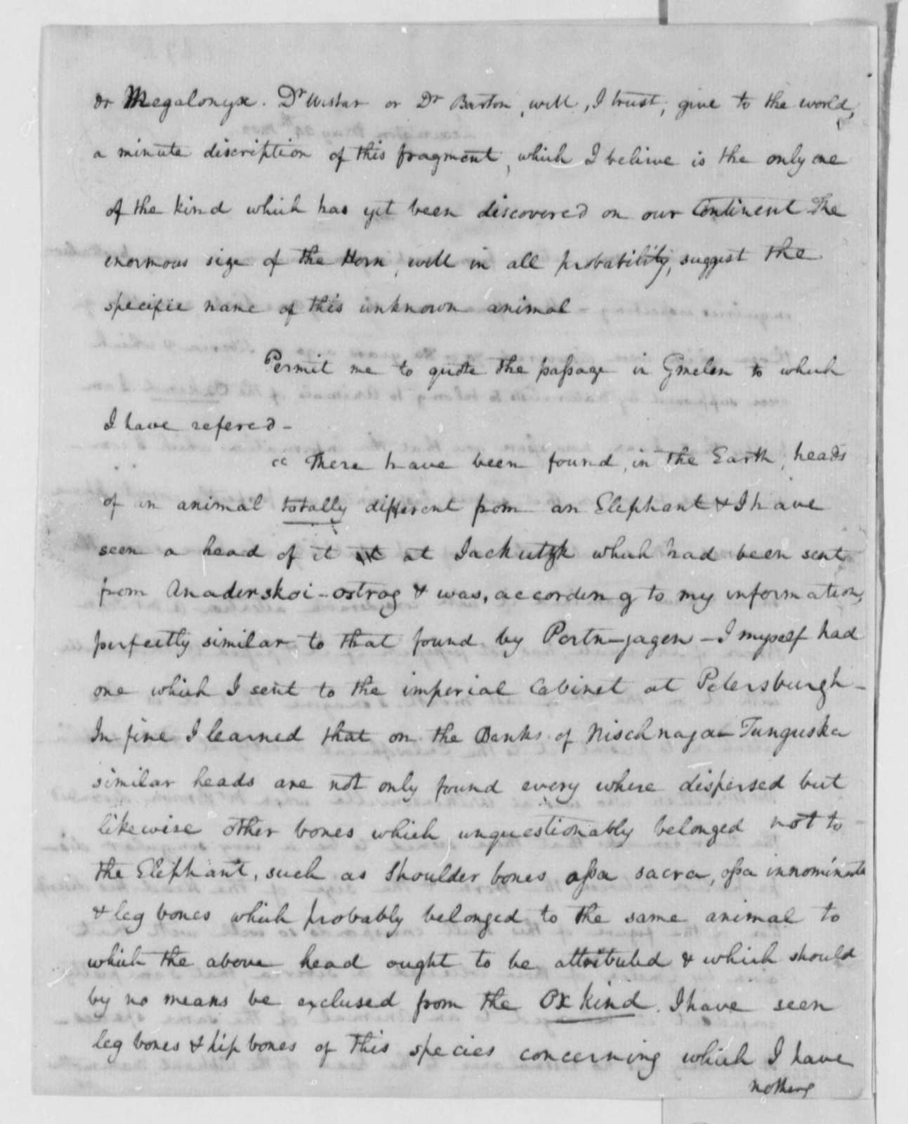 Samuel Brown to Thomas Jefferson, May 24, 1802