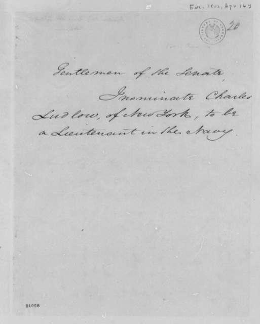 Senate, April 16, 1802