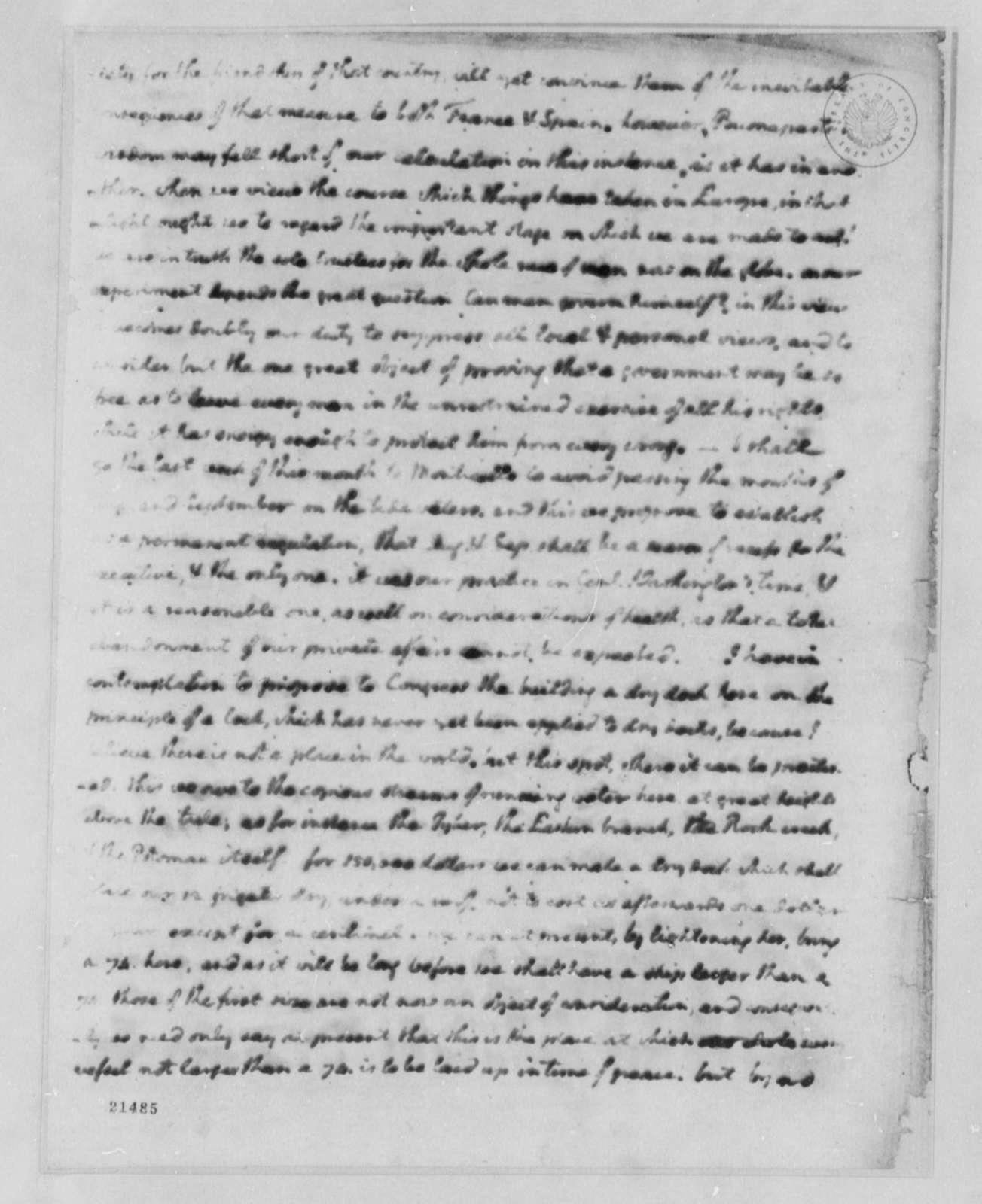 Thomas Jefferson to Nathaniel Macon, July 17, 1802