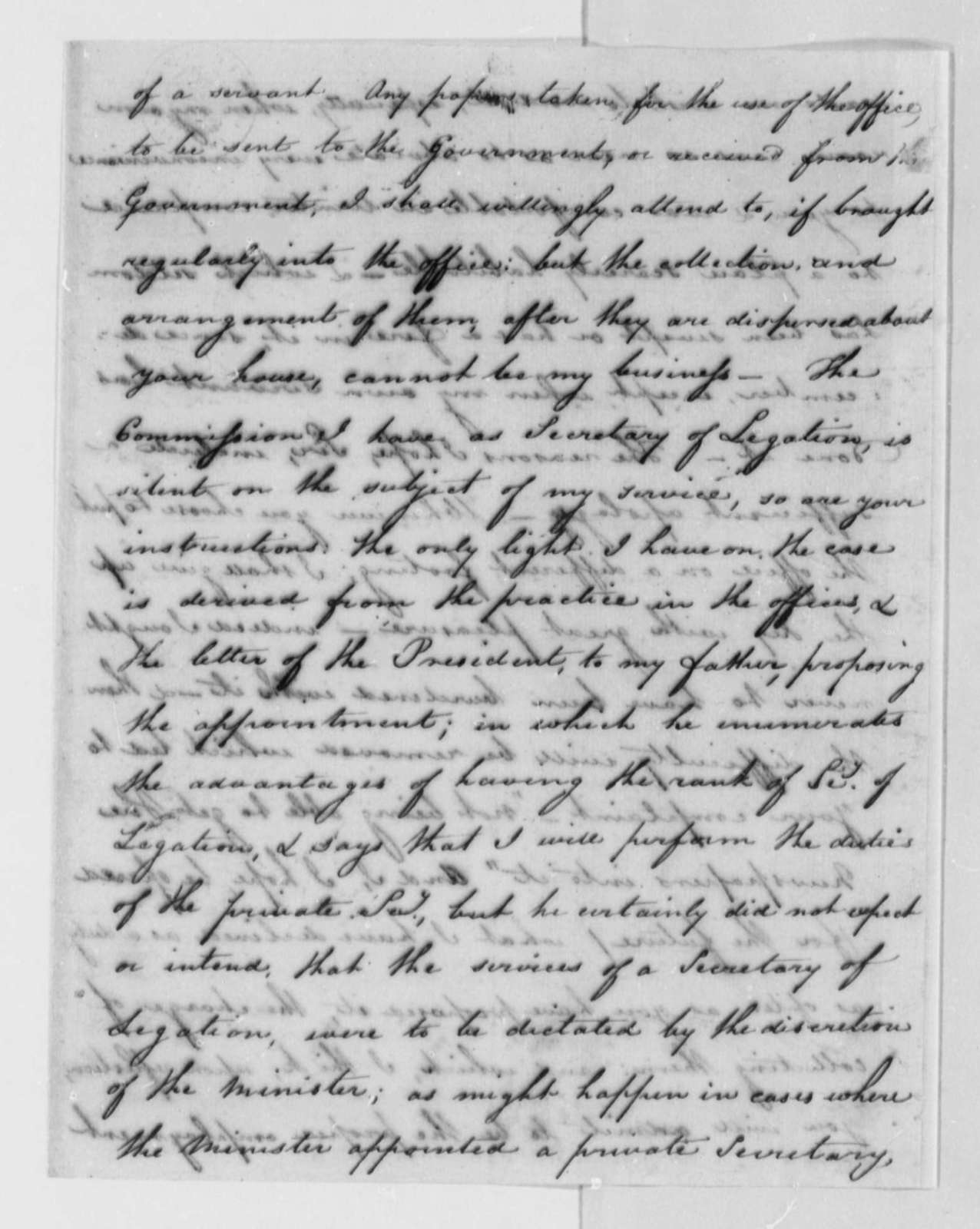 Thomas Sumter, Jr. to Robert R. Livingston, April 27, 1802