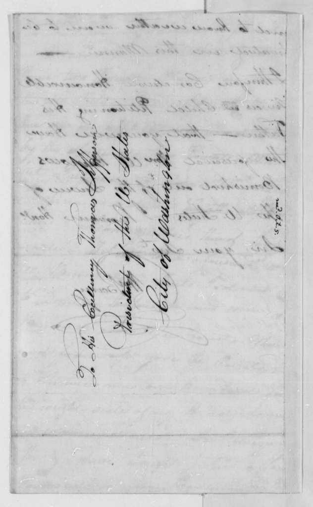 William Barry to Thomas Jefferson, October 5, 1802