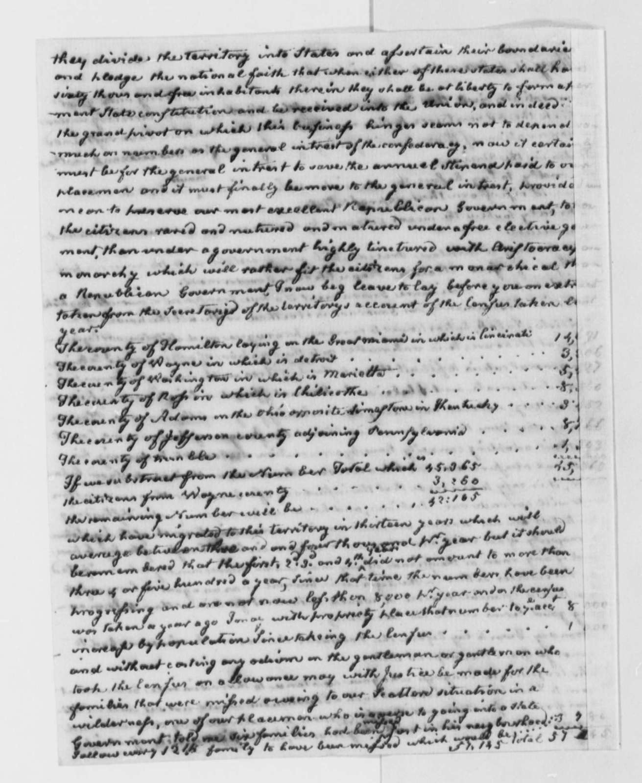 William Goforth to Thomas Jefferson, January 5, 1802, with Petition