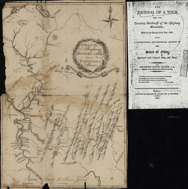A map of the Alleghany, Monongahela, and Yohiogany rivers /