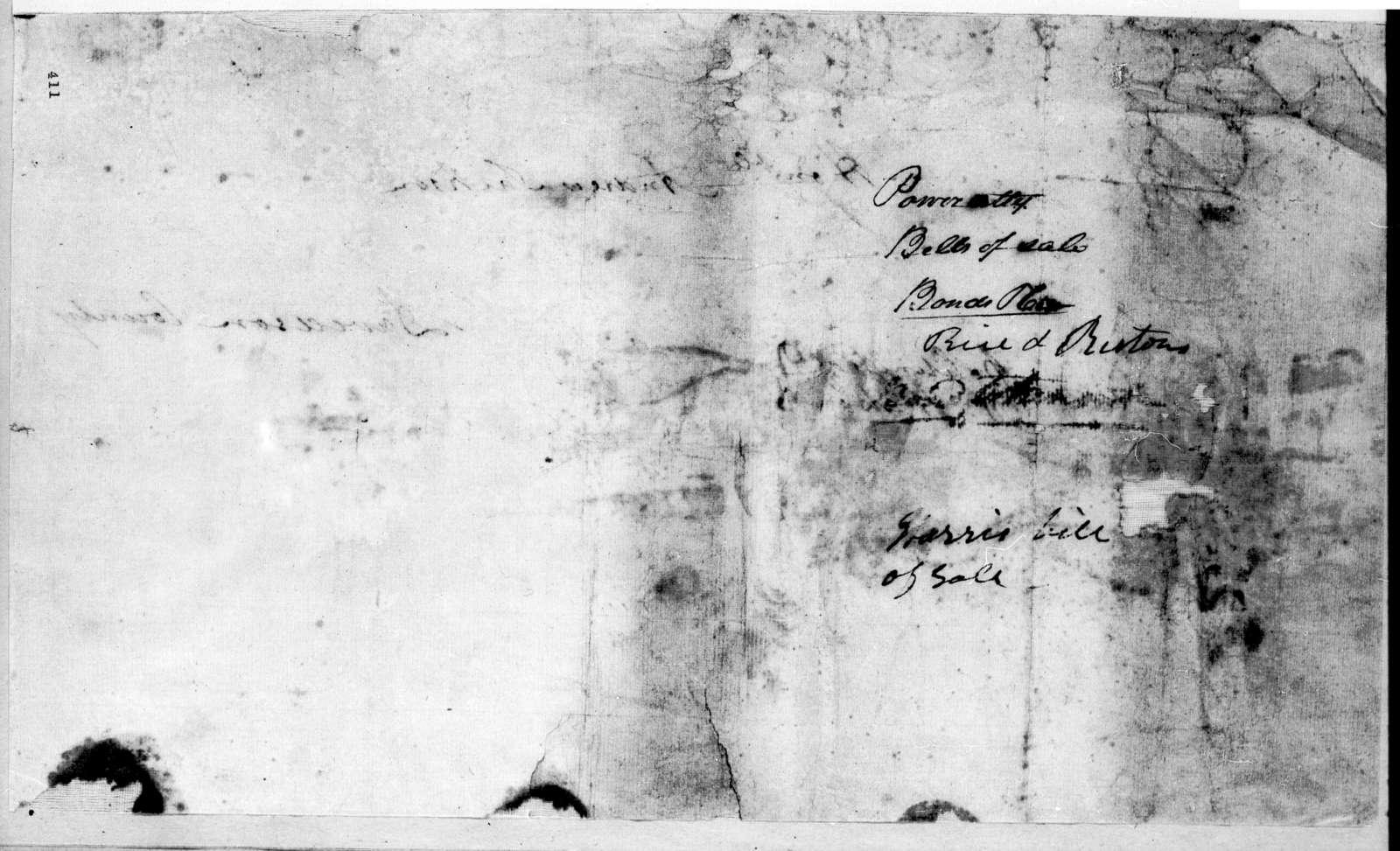 Archibald Roane to Andrew Jackson, July 22, 1803