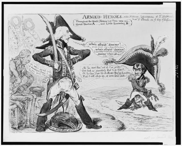 Armed-heroes / Js. Gillray inv. & f.