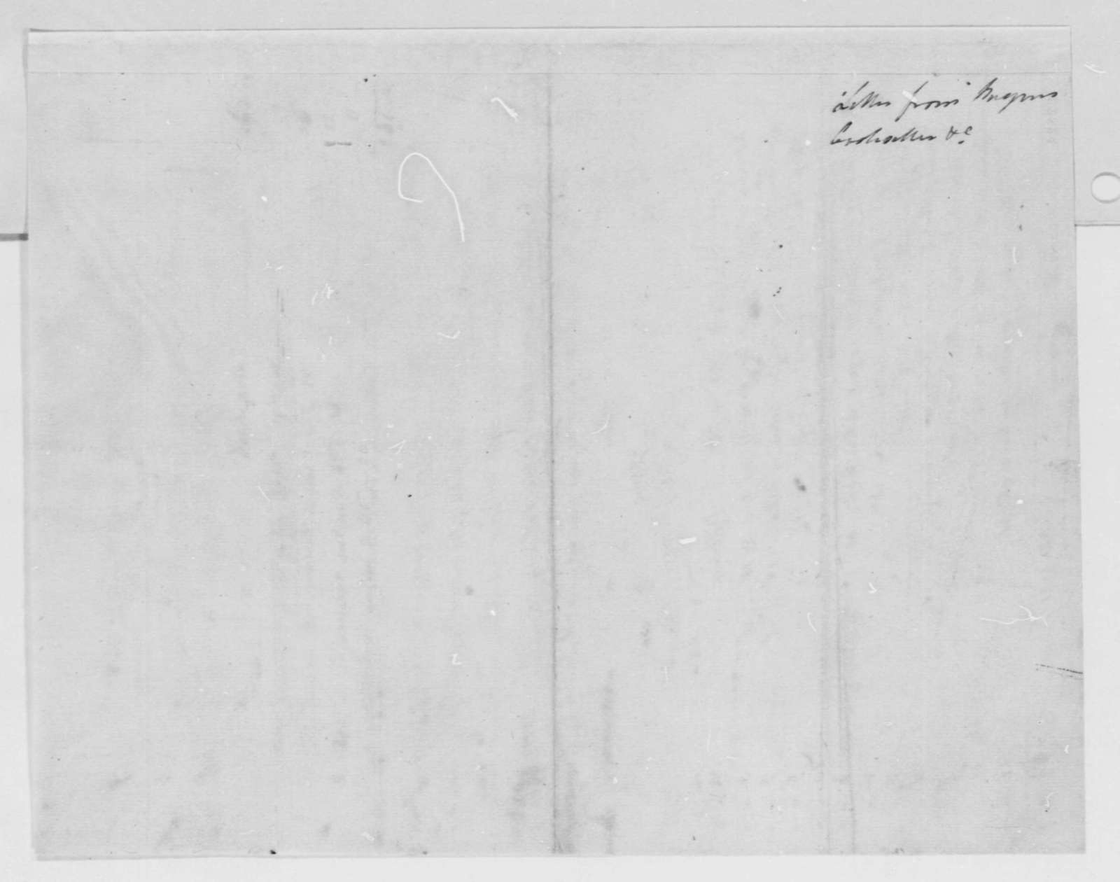 Charles de Pougens to Robert Livingston, June 8, 1803, in French