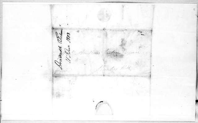 Deaderick & Tatum to Andrew Jackson, December 11, 1803