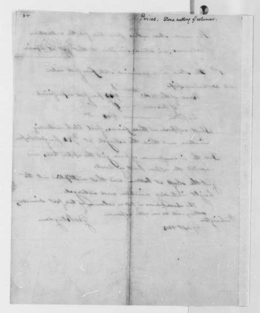 George Blagden to Thomas Jefferson, September 27, 1803