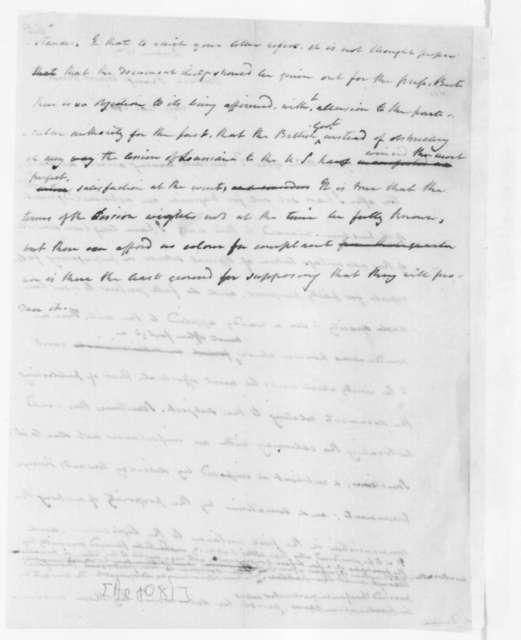 James Madison to William Duane, August 20, 1803.