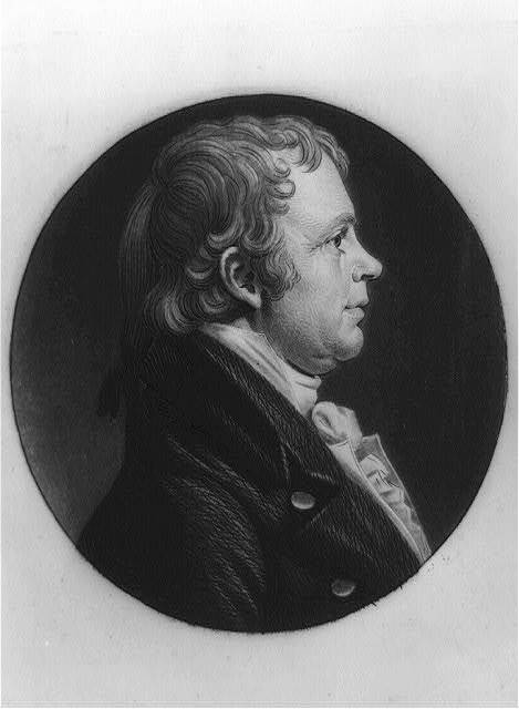 [James McHenry, head-and-shoulders portrait, right profile]