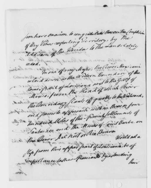 John Dickinson to Thomas Jefferson, August 1, 1803