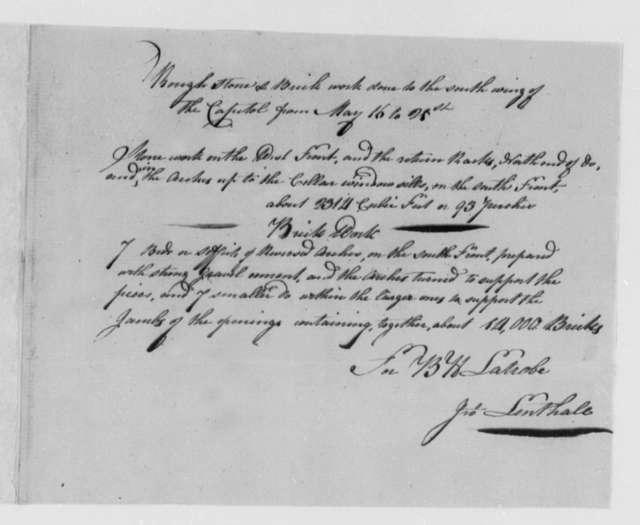 John Lenthall to Thomas Jefferson, May 16, 1803