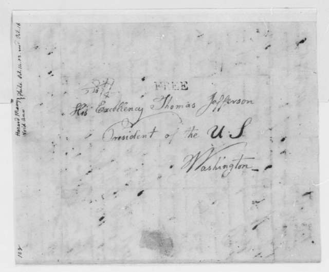 Mary Hazard and Anna Void to Thomas Jefferson, October 14, 1803, in German