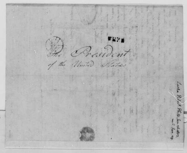 Robert Leslie to Thomas Jefferson, January 26, 1803