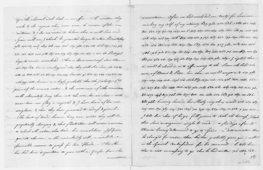 Robert R. Livingston to James Madison, September 18, 1803. Partly in cipher and a copy enclosed.
