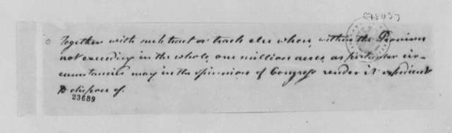 Thomas Jefferson, 1803, Louisiana Territory