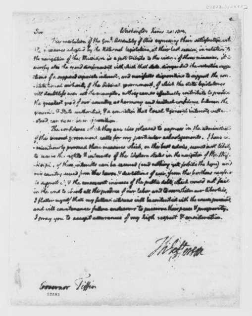 Thomas Jefferson to Edward Tiffin, June 20, 1803