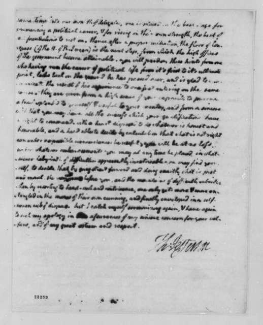 Thomas Jefferson to Lewis Harvie, January 25, 1803