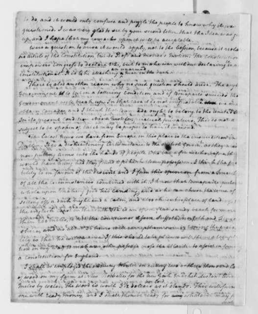 Thomas Paine to Thomas Jefferson, September 23, 1803