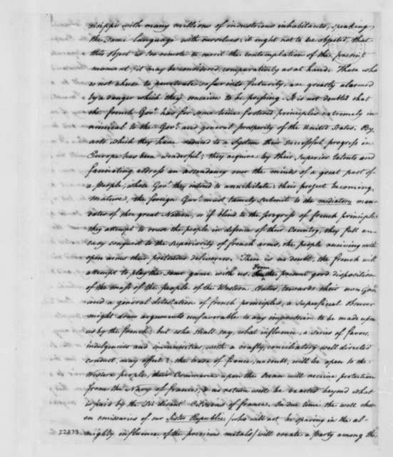 William Dunbar to Thomas Jefferson, June 10, 1803, with Extract in Spanish