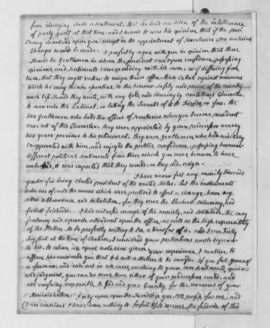 Abigail Smith Adams to Thomas Jefferson, July 1, 1804