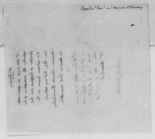 Albert Gallatin, November 7, 1804, Duty Exemption on Baggage