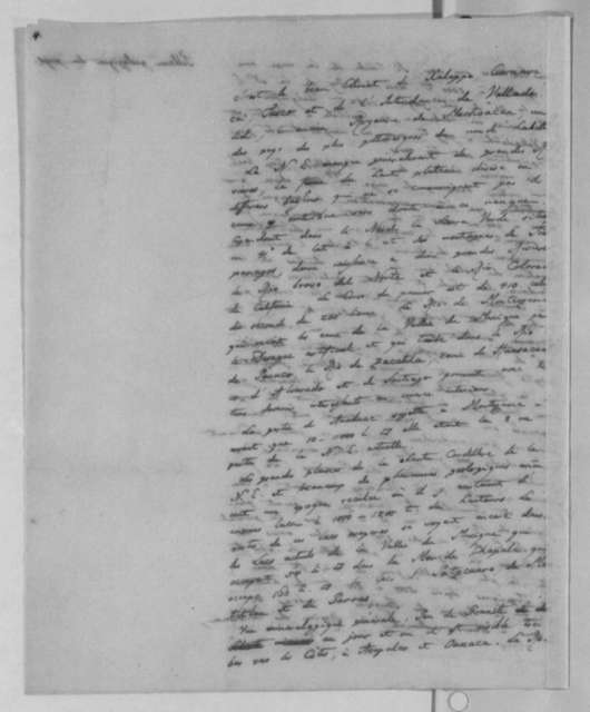 Baron von Humboldt, 1804, New Spain Report, in French