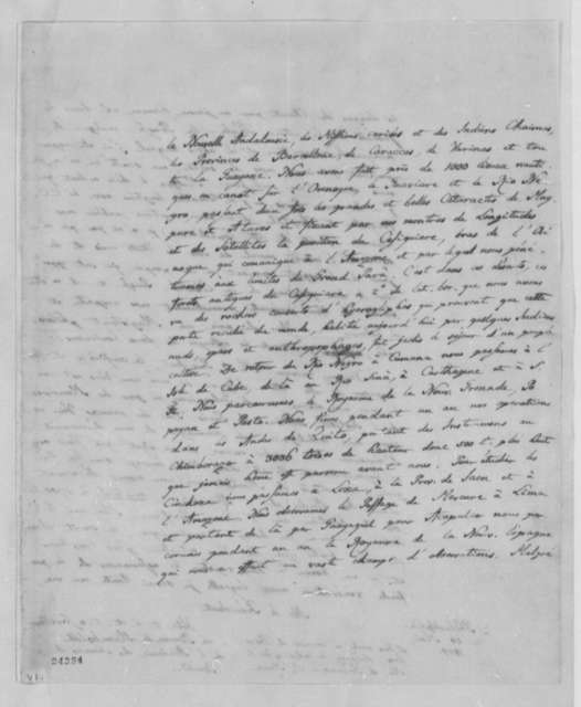 Baron von Humboldt to Thomas Jefferson, May 24, 1804, in French