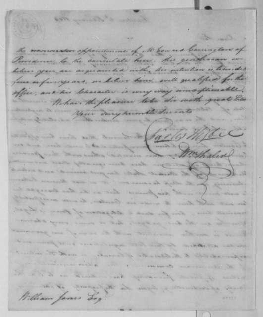 Charles Higbee and William Thaler to William Jones, February 2, 1804